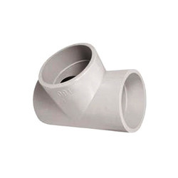 Welding Fitting Tee Molded Pipe Tee, Size: 1/2 - 12 inch, for HDPE / PP PIPE