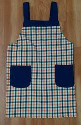 Poly Cotton Aprons Checks