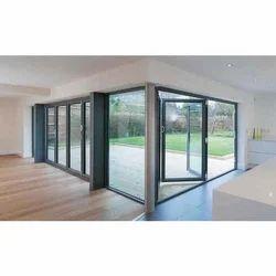 Aluminium, Glass Aluminium Slide And Fold Door, Interior, 8-20 Mm