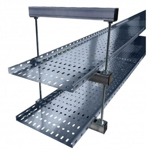 Steel Cable Tray Support, Channel Tray, Rs 70 /meter AUM Industries | ID:  20881768962