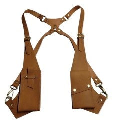 Mon Exports Unisex Genuine Leather Chest Bag