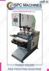 Three Colour Pad Printing Machine
