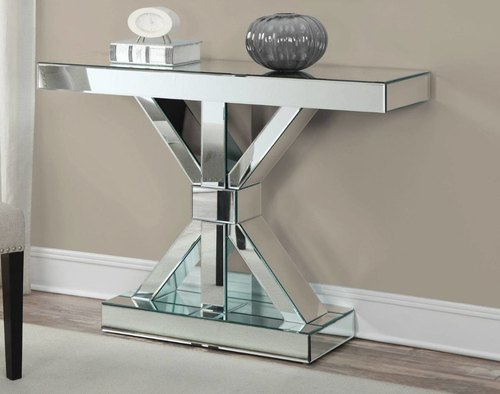 Accent Modern Designer Console Table X, Mirrored Hall Table Australia