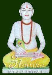 Marble Goswami Tulsidas Statue