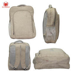 Eco Friendly Jute Backpack Bag