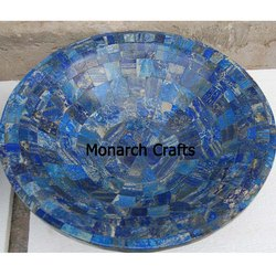 Lapis Lazuli Gemstone Wash Basins