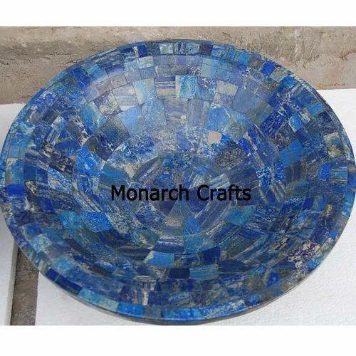 Lapis Lazuli Gemstone Wash Basins