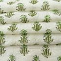 100% Cotton Hand Block Print Fabric