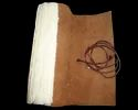 Vintage Leather Foldable Writing Journal