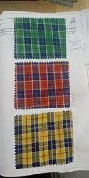 Plain Raymonds Shirtings BIG CHECKS Fabric, 100, Machine wash