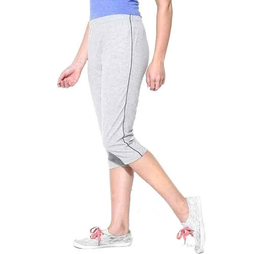 c9b9fa94ba881 Grey Ladies Cotton Half Pant, Rs 85 /piece, SMS Garments | ID ...