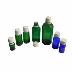 Colored Glass Serum Bottles