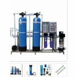 反渗透碳钢Aqua自由工业紫外线净水器,储水能力:500-1000升