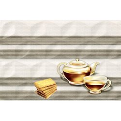 Ceramic Johnson Printed Kitchen Tiles, Thickness: 5 to 6 mm, Size: 10X15 Inch