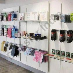 Retail Wall Display Shelves