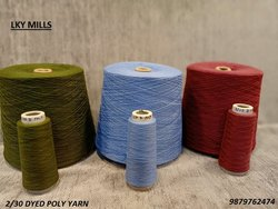 2/30 Dyed Polyester Yarn 30/2