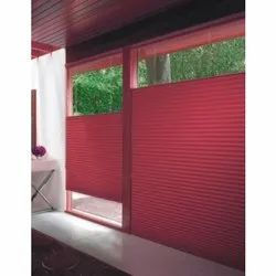 Red Polyester Window Blinds