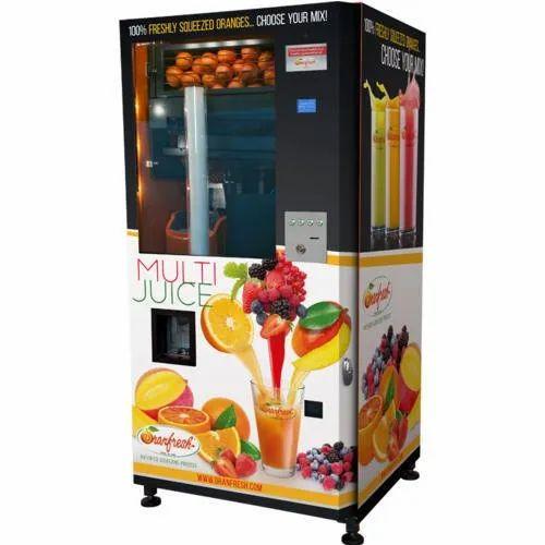 Privi Stainless Steel Fruit Juice Dispenser Machine Rs 25000 Unit