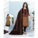 Ladies Cotton Unstitched Churidar Dress Material