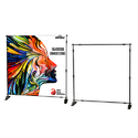 EXIBU Adjustable Banner Stand 10 x 8 FT