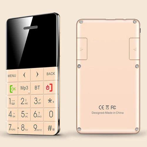 q5 ultra low radiation mobile card size phone gold cell phones rh indiamart com LG Phone Manuals User Guides Panasonic Phones User Manual
