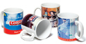 Silver Printed Promotional Mug Printing Services