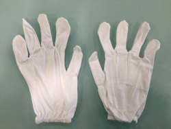 Cotton Hosiery Hand Gloves