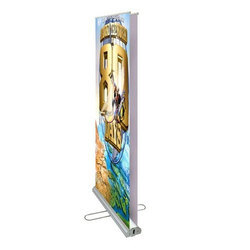 Double Sided Rollup Stand, Size: 2.5 X 6 Feet