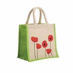 Jute Flower Model Bags