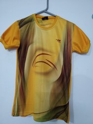 Printed Casual Wear Full Sublimation T Shirt
