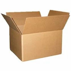 Corrugated Boxes (Square, Rectangular) for Construction, Capacity: 5-7 kgs