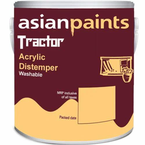 Asian Maling Traktor Akryl Hundesyge Paint 20kg, Rs 1200-4324