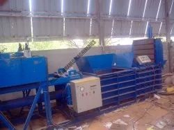 Horizontal Type Waste Paper Baling Machine