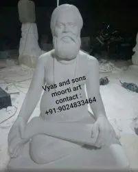 marble  Rang Avadooth maharaj statue