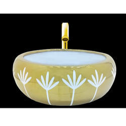 Flower Pot Table Top Wash Basin