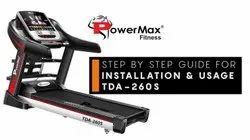 Powermax Treadmill TDA260s