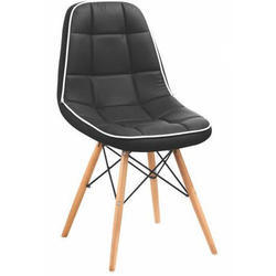 SPS-380 Black Leather Bar Stool Chair