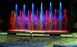 Indoor Musical Water Fountain