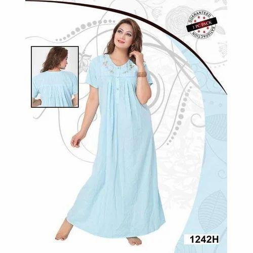 bf4158ba408 Ladies Nightwear - Hot N Sexy Four Pieces Nightwear Exporter from Mumbai