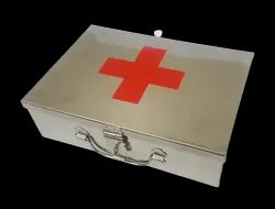 Stainless Steel / Aluminium First Aid Box / Box for Medicines