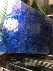 Designer Blue Glass