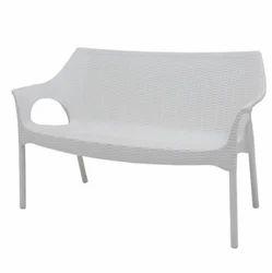Supreme Love Seat White Sofa