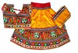 Indian Kids Handmade Lehenga Choli - Traditional Wear - 36 Size - 13 to 15 Year