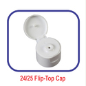 White PP Flip Top Edible Oil Cap