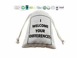 Biodegradable Cotton Natural Bag