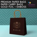Paper Carry Bags with Foiling