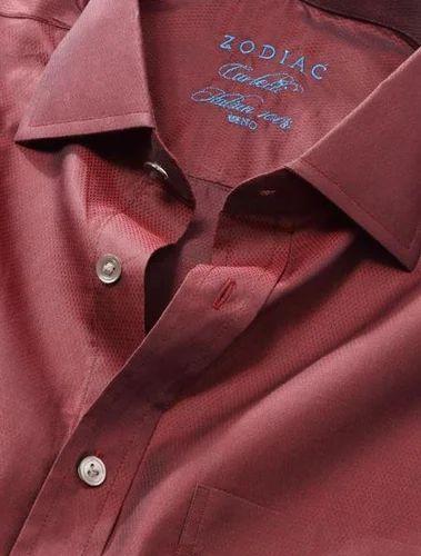 5ff30846432 Burgundy Carletti Classic Fit Shirt