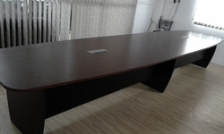 Remtech Brown Conference Office table, Warranty: 1 Year