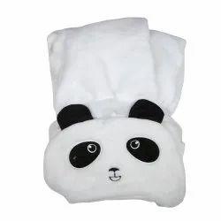 BABY BLANKET WITH HOOD PANDA
