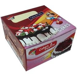 Paper Cake Packaging Box